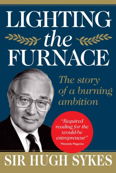 Lighting The Furnace – Sir Hugh Sykes