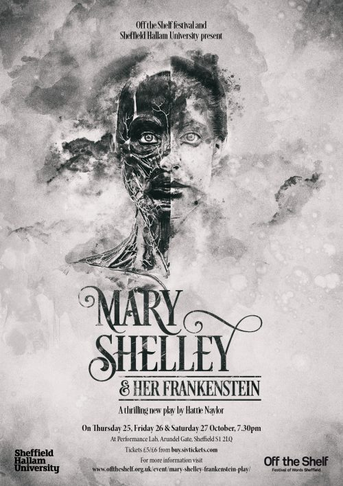 Mary Shelley and her Frankenstein