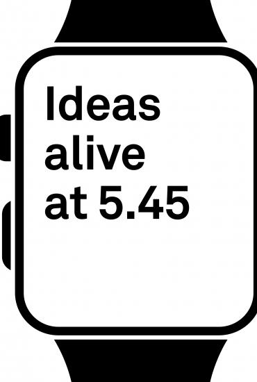 Ideas Alive at 5.45 - The Poet's Place