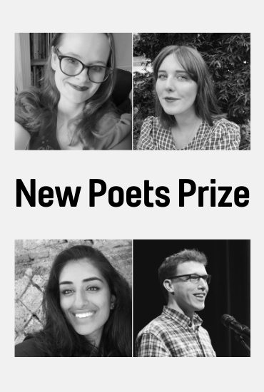 New Poets Prize - Hannah Hodgson, Safia Khan, Charlotte Knight and Karl Knights: Online event